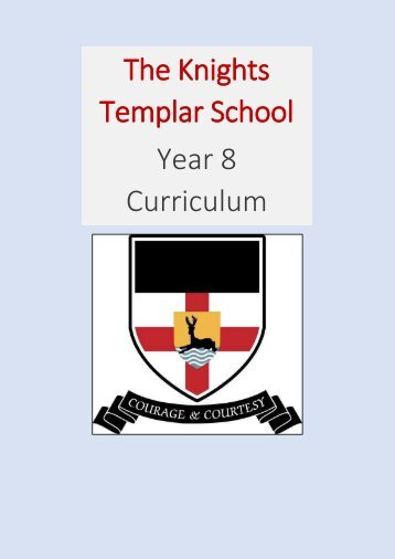 KTS Year 8 Curriculum Information 2018-19