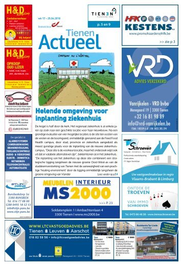 1817 Tienen Actueel - 25 april 2018 - Week 17