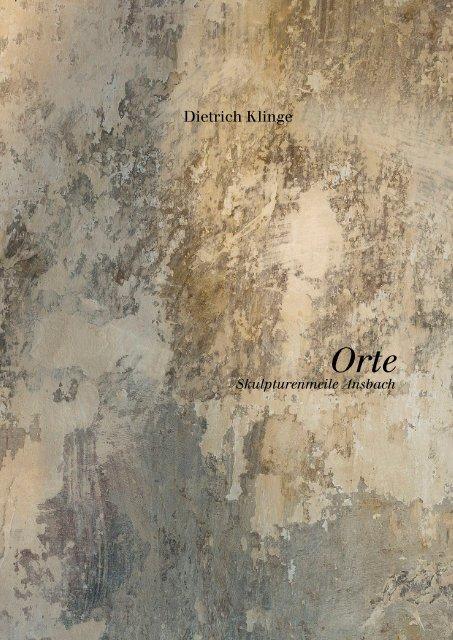 Dietrich Klinge –Orte