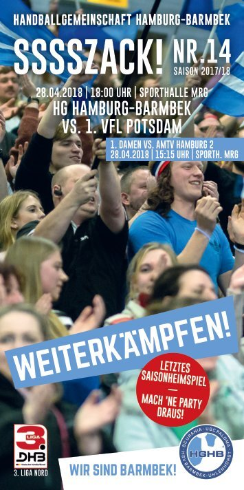 SSSSZACK! HGHB vs. VfL Potsdam
