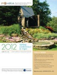 2012 Spring Conference & Expo Agenda (PDF) - Pennsylvania ...