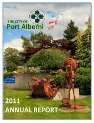 2011 Highlights - City of Port Alberni