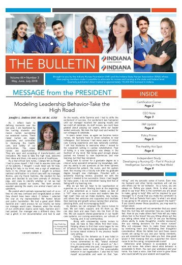 The Bulletin - May 2018