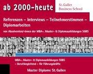 Referenzen - Interviews - Teilnehmerstimmen - Diplomarbeiten
