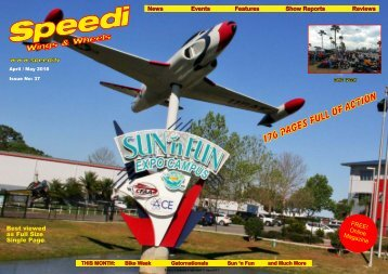 Speedi Wings & Wheels Magazine - April / May 2018