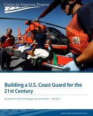 Building a U.S. Coast Guard for the 21st Century - Center for ...