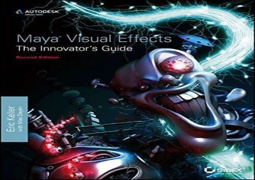 Autodesk Maya Manual Pdf