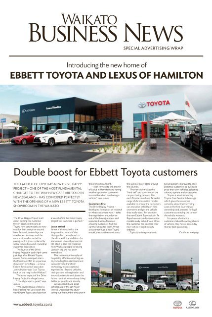 Waikato Business News April/May 2018