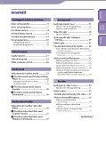 Sony NWZ-E444 - NWZ-E444 Istruzioni per l'uso Svedese - Page 3