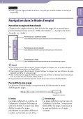 Sony NWZ-E444 - NWZ-E444 Istruzioni per l'uso Francese - Page 2