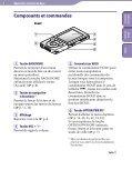 Sony NWZ-E444 - NWZ-E444 Istruzioni per l'uso Francese - Page 5