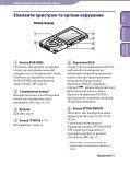Sony NWZ-E444 - NWZ-E444 Istruzioni per l'uso Ucraino - Page 5