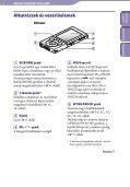Sony NWZ-E444 - NWZ-E444 Istruzioni per l'uso Ungherese - Page 5