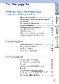 Sony MHS-FS2 - MHS-FS2 Istruzioni per l'uso Ungherese - Page 7