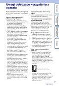 Sony MHS-FS2 - MHS-FS2 Istruzioni per l'uso Polacco - Page 3