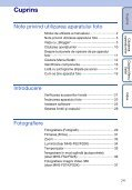 Sony MHS-FS2 - MHS-FS2 Istruzioni per l'uso Rumeno - Page 7