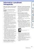 Sony MHS-FS2 - MHS-FS2 Istruzioni per l'uso Slovacco - Page 3