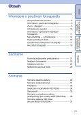 Sony MHS-FS2 - MHS-FS2 Istruzioni per l'uso Slovacco - Page 7