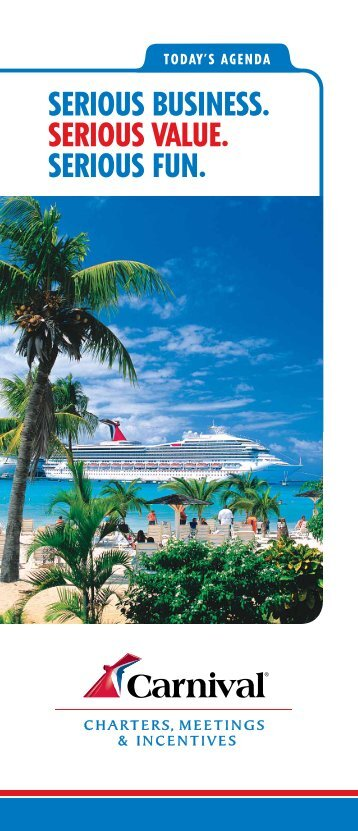 Carnival Travel Incentives And Meetings