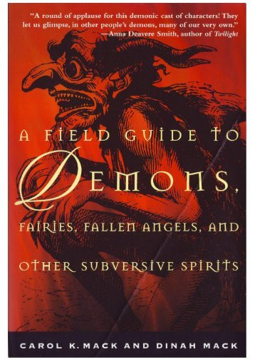 A Field Guide to Demons