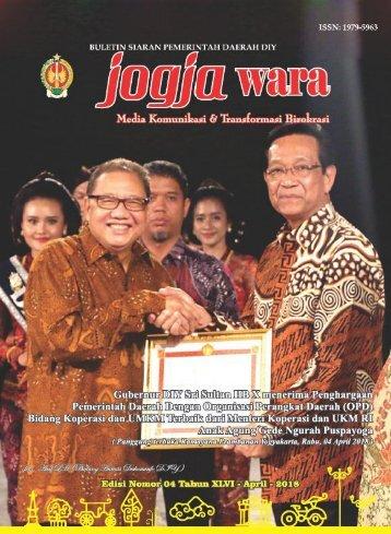 ebook JOGJAWARA EDISI APRIL 201 - Pemda DIY