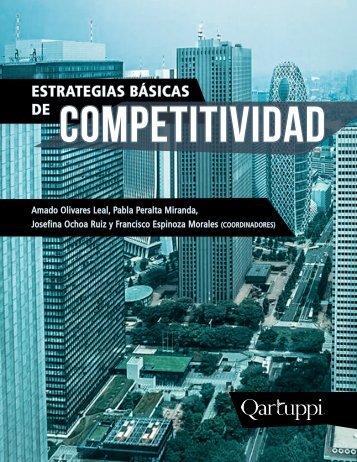 """Noviembre 2017, Libro: """"Estrategias Básicas de Competitividad"""""""