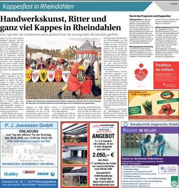 Kappesfest in Rheindahlen  -27.04.2018-