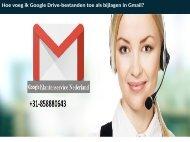 Hoe voeg ik Google Drive-bestanden toe als bijlagen in Gmail