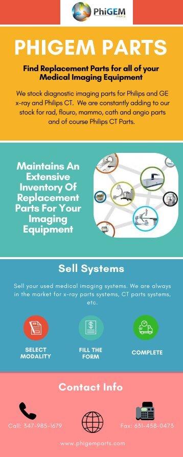 PhiGEM Parts Provides Best Medical Imaging Equipment