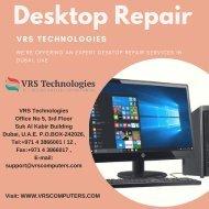 Desktop Repair Services - VRS Technologies