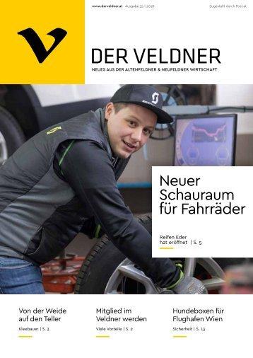 Der Veldner Ausgabe Frühling 2018