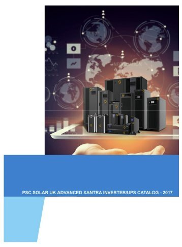PSC SOLAR  UK COMPLETE CATALOGUE FOR ALL INVERTERS