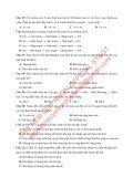Bộ đề thi thử THPTQG Năm 2018 - Môn Sinh Học - Luyện đề THPTQG - 14 ĐỀ CHUẨN + ĐÁP ÁN (Without explanation) - Page 3