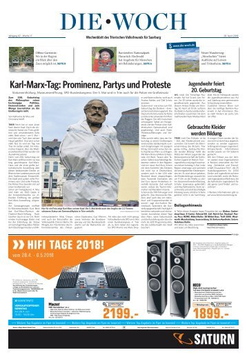 Saarburger Woch 28.04.2018