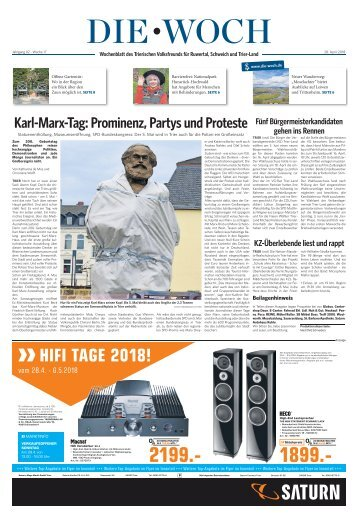 Trierer Land Woch 28.04.2018