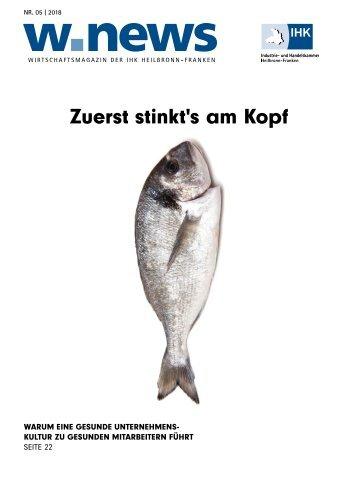 UNTERNEHMENSKULTUR UND FÜHRUNG| w.news 05.2018