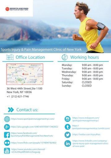 Sports Injury & Pain Management Clinic of NY