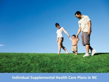 Individual Supplemental Health Care Plans in NC