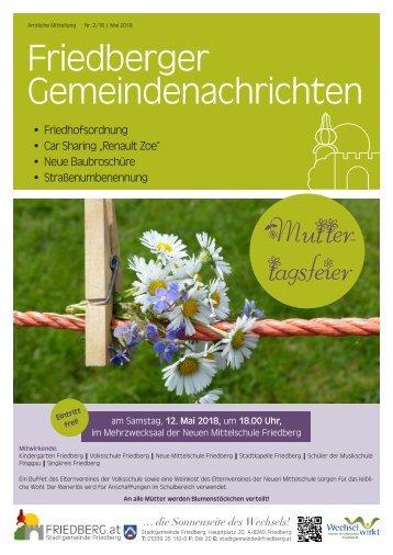 Gemeindezeitung Mai 2 2018
