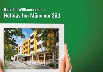 Holiday Inn München Süd –Infos für Professionals