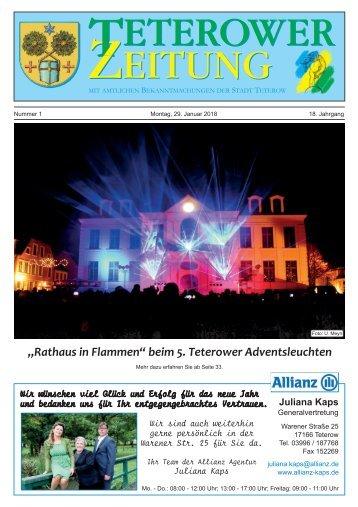 Teterower Zeitung 29.01.2018