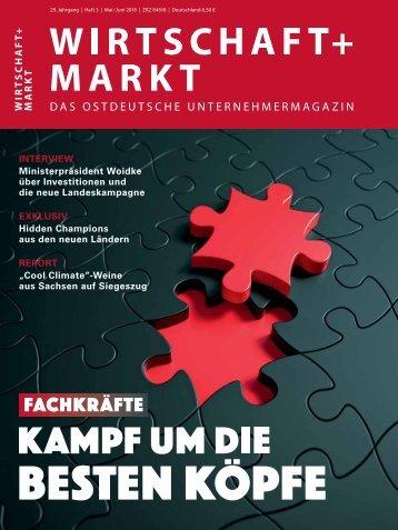 WIRTSCHAFT+MARKT 3/2018