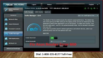 1-800-335-8177 Fix Asus Router Error 800