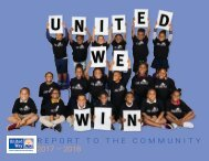 Town of Palm Beach United Way Annual Report 2017-2018