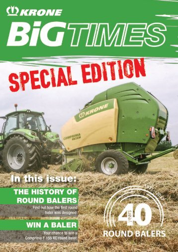 BiG Times Special Round Balers Edition