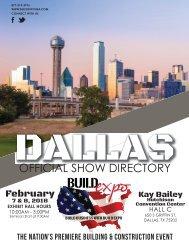 Dallas 2018 Build Expo Show Directory