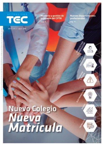 Revista Actualidad TEC  |  Abril 2018