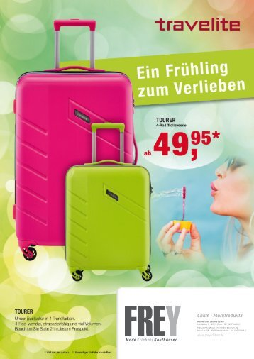 FREY Mode - Travelite Koffer-Prospekt