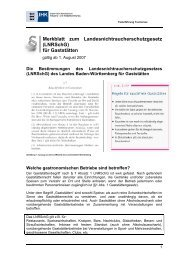 Merkblatt zum Landesnichtraucherschutzgesetz - Baden  ...