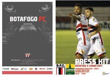 Botafogo x Cuiabá (MT) - Camp. Brasileiro Série C - 28/04/2018